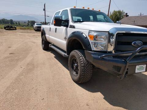 2014 Ford F-350 Super Duty for sale at HIGH COUNTRY MOTORS in Granby CO