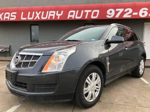 2010 Cadillac SRX for sale at Texas Luxury Auto in Cedar Hill TX