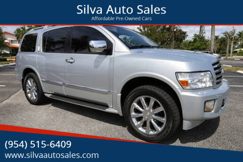 2005 Infiniti QX56 for sale at Silva Auto Sales in Pompano Beach FL