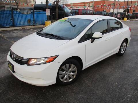 2012 Honda Civic for sale at 5 Stars Auto Service and Sales in Chicago IL