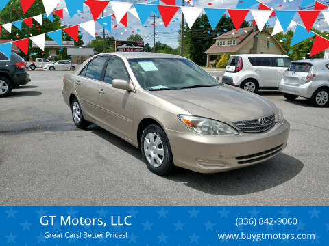 2004 Toyota Camry for sale at GT Motors, LLC in Elkin NC
