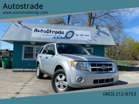 2010 Ford Escape for sale at Autostrade in Indianapolis IN