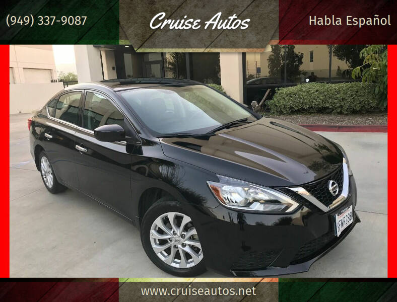 2018 Nissan Sentra for sale at Cruise Autos in Corona CA