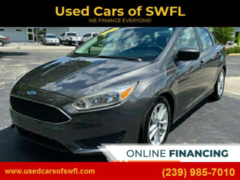 2016 Ford Focus for sale at Used Cars of SWFL in Fort Myers FL
