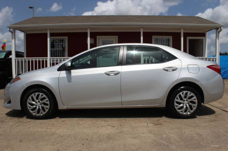 2018 Toyota Corolla for sale at AMT AUTO SALES LLC in Houston TX
