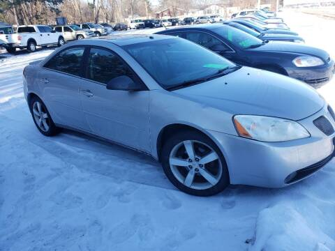 2006 Pontiac G6 for sale at Northwoods Auto & Truck Sales in Machesney Park IL