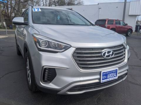 2017 Hyundai Santa Fe for sale at GREAT DEALS ON WHEELS in Michigan City IN