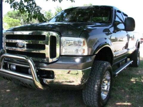 2007 Ford F-250 Super Duty for sale at CANTWEIGHT CLASSICS in Maysville OK