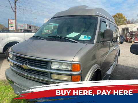 2001 Chevrolet Express Cargo for sale at WINNERS CIRCLE AUTO EXCHANGE in Ashland KY