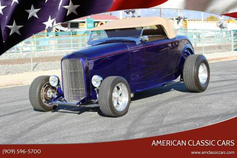 1932 Ford Roadster for sale at American Classic Cars in La Verne CA