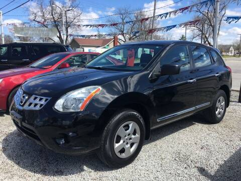 2013 Nissan Rogue for sale at Antique Motors in Plymouth IN