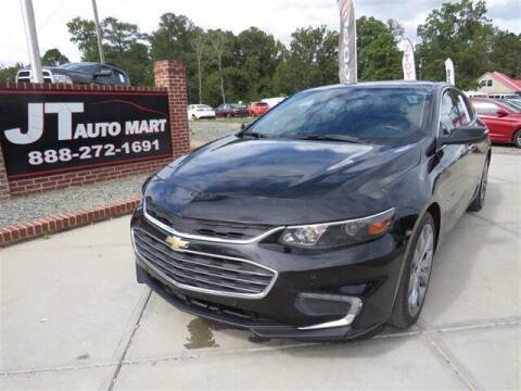 2016 Chevrolet Malibu for sale at J T Auto Group in Sanford NC