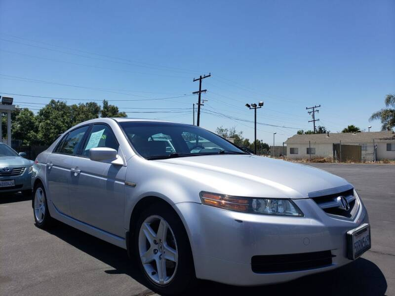 2005 Acura TL for sale at First Shift Auto in Ontario CA