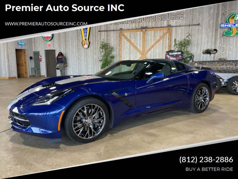 2017 Chevrolet Corvette for sale at Premier Auto Source INC in Terre Haute IN