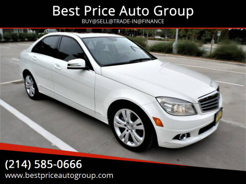 2010 Mercedes-Benz C-Class for sale at Best Price Auto Group in Mckinney TX