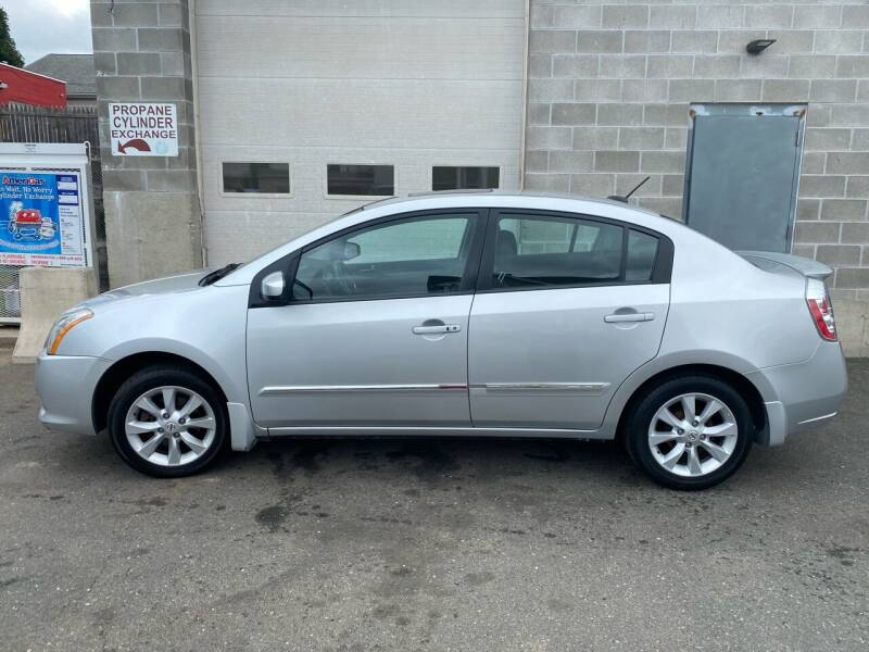 2012 Nissan Sentra for sale at Pafumi Auto Sales in Indian Orchard MA