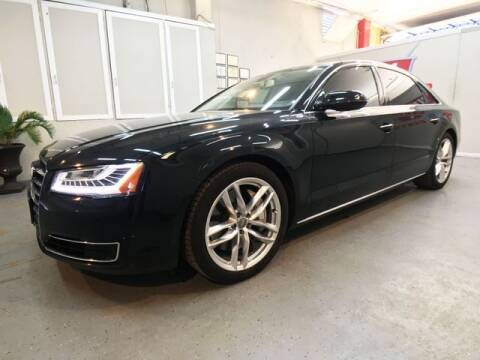 2015 Audi A8 L for sale at LUNA CAR CENTER in San Antonio TX