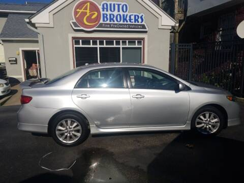 2010 Toyota Corolla for sale at AC Auto Brokers in Atlantic City NJ