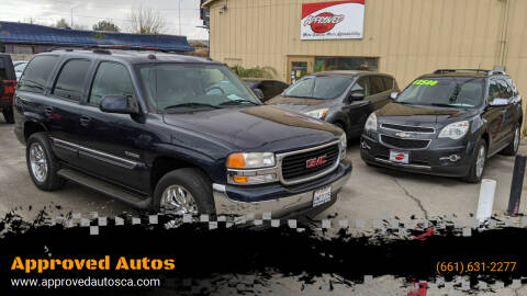 2005 GMC Yukon for sale at Approved Autos in Bakersfield CA