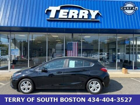 2017 Chevrolet Cruze for sale at Terry of South Boston in South Boston VA