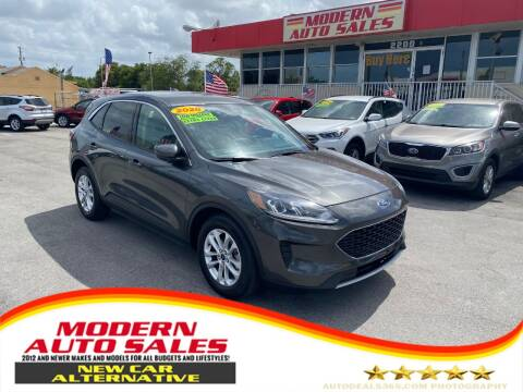 2020 Ford Escape for sale at Modern Auto Sales in Hollywood FL