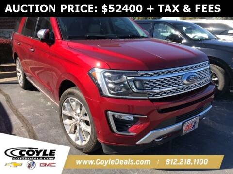 2019 Ford Expedition for sale at COYLE GM - COYLE NISSAN in Clarksville IN