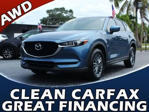 2018 Mazda CX-5 for sale at Palm Beach Auto Wholesale in Lake Park FL