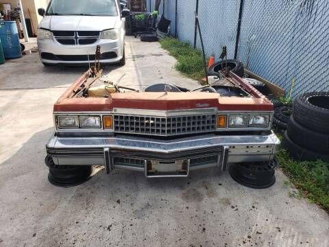 1978 Cadillac DeVille for sale at KK Car Co Inc in Lake Worth FL