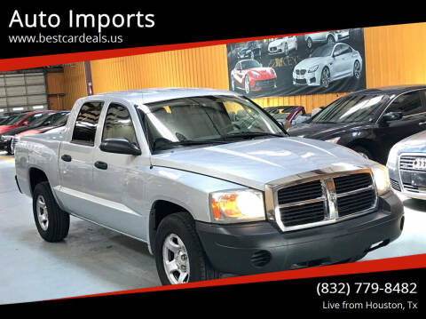 2005 Dodge Dakota for sale at Auto Imports in Houston TX