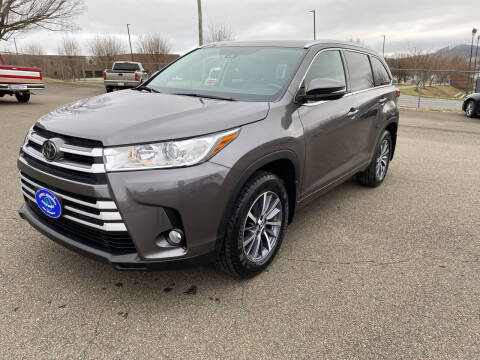 2018 Toyota Highlander for sale at Steve Johnson Auto World in West Jefferson NC