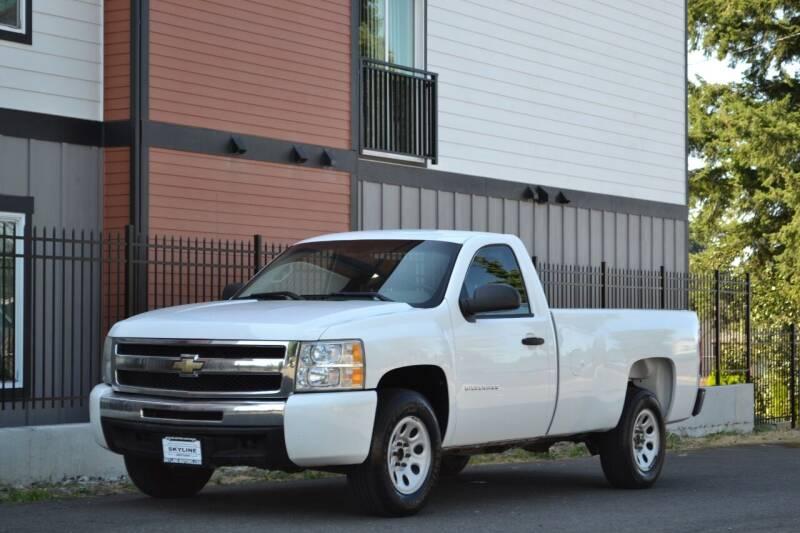 2011 Chevrolet Silverado 1500 for sale at Skyline Motors Auto Sales in Tacoma WA