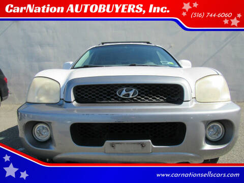 2003 Hyundai Santa Fe for sale at CarNation AUTOBUYERS, Inc. in Rockville Centre NY