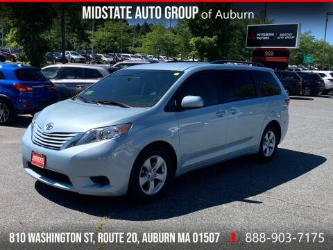 2017 Toyota Sienna for sale at Midstate Auto Group in Auburn MA
