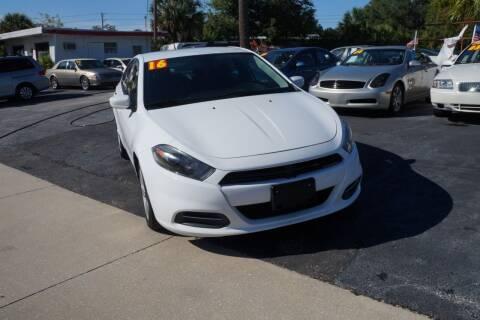 2016 Dodge Dart for sale at J Linn Motors in Clearwater FL