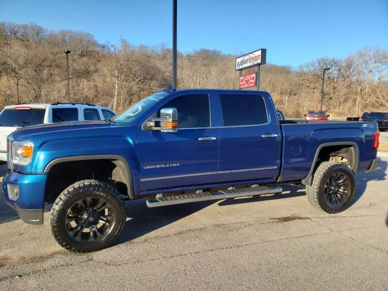2015 GMC Sierra 2500HD for sale at ALL AMERICAN AUTO MART in Edwardsville KS