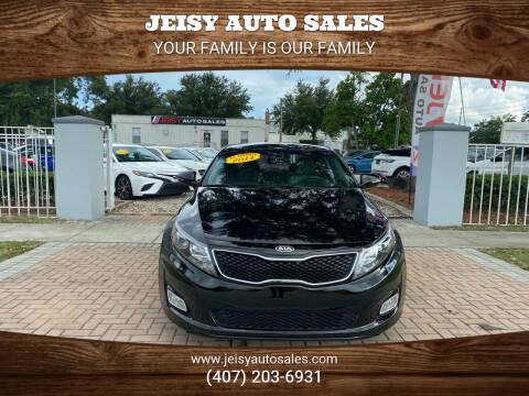2014 Kia Optima for sale at JEISY AUTO SALES in Orlando FL