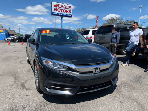 2017 Honda Civic for sale at Eagle Motors in Hamilton OH