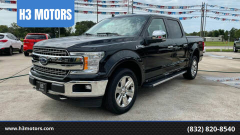 2018 Ford F-150 for sale at H3 MOTORS in Dickinson TX