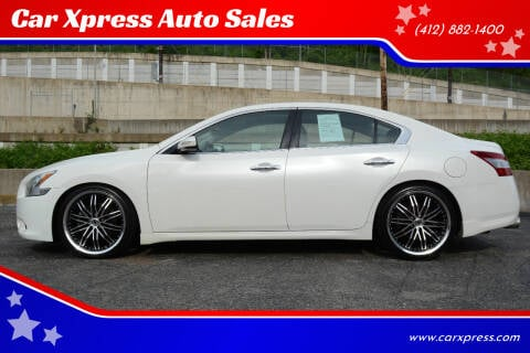 2010 Nissan Maxima for sale at Car Xpress Auto Sales in Pittsburgh PA