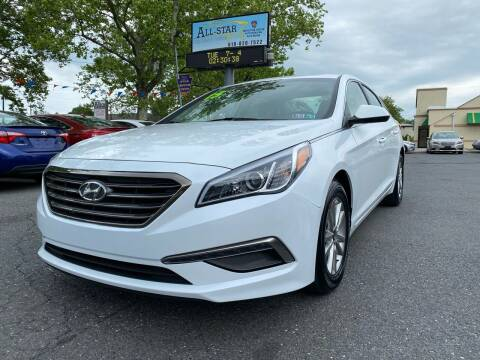 2015 Hyundai Sonata for sale at All Star Auto Sales and Service LLC in Allentown PA