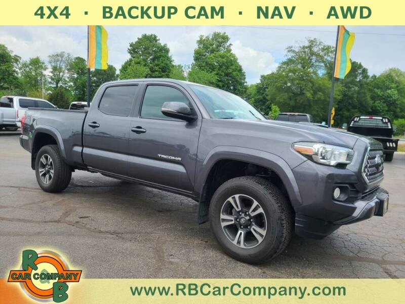 2018 Toyota Tacoma for sale at R & B CAR CO - R&B CAR COMPANY in Columbia City IN