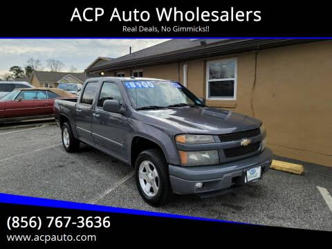 2009 Chevrolet Colorado for sale at ACP Auto Wholesalers in Berlin NJ