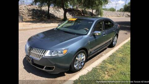 2011 Lincoln MKZ Hybrid for sale at Noble Motors in Tucson AZ