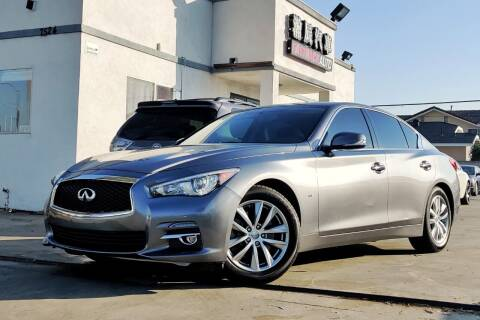 2015 Infiniti Q50 for sale at Fastrack Auto Inc in Rosemead CA