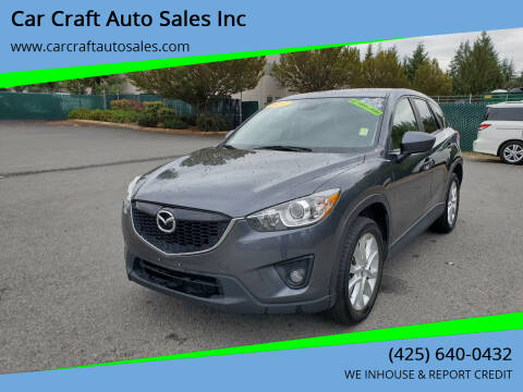 2014 Mazda CX-5 for sale at Car Craft Auto Sales Inc in Lynnwood WA