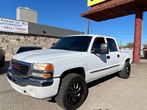 2006 GMC Sierra 1500 for sale at American Automotive , LLC in Tucson AZ