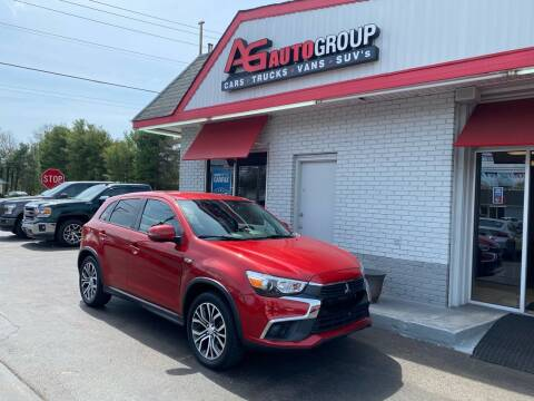 2016 Mitsubishi Outlander Sport for sale at AG AUTOGROUP in Vineland NJ
