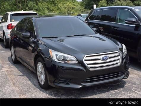 2016 Subaru Legacy for sale at BOB ROHRMAN FORT WAYNE TOYOTA in Fort Wayne IN