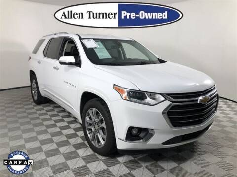 2020 Chevrolet Traverse for sale at Allen Turner Hyundai in Pensacola FL