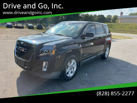 2010 GMC Terrain for sale at Drive and Go, Inc. in Hickory NC